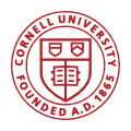 The logo of Cornell University.